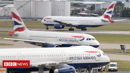 BA admit 'error' over cancelled flights