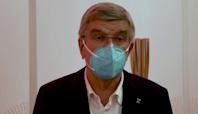 IOC chief Bach expresses admiration for Simone Biles