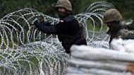 "Migrants caught in deadly ""hybrid warfare"" along Poland-Belarus border"