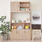 《HOPMA》DIY巧收摩登高廚房櫃/櫥櫃/收納櫃/置物櫃-寬91 x深40.3 x高180cm
