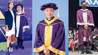 古天樂王祖藍獲演藝學院頒授榮譽院士 張學友獲榮譽博士:以為無機會做到 - 20210418 - 娛樂