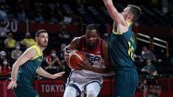 杜蘭特23分逆轉澳洲 美國男籃闖金牌戰拚4連霸