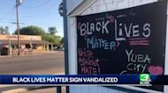 Yuba City business vandalized for supporting Black Lives Matter