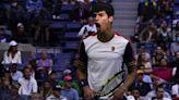 U.S. Open: Teenager Carlos Alcaraz upsets No. 3 Stefanos Tsitsipas