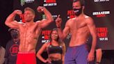Bellator 263 ceremonial weigh-in faceoff video highlights