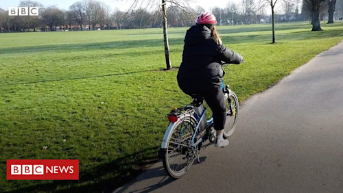 Why do fewer women ride bikes in Cardiff?