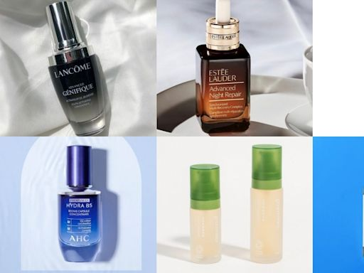 精華液推薦! 10款專櫃/開架品牌,抗老、保濕、美白,最好用的精華液總整理