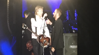 Paul McCartney Reunites With Ringo Starr at Dodger Stadium Concert