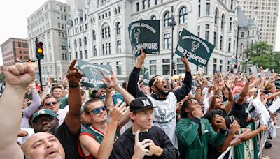 'This belongs to all of us': Milwaukee Bucks victory a unifying force for city