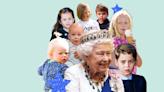 Who are all Queen Elizabeth's great-grandchildren?