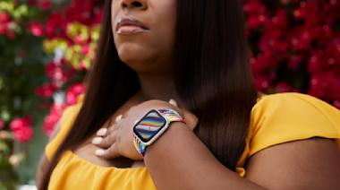 Apple Watch彩虹編織表環太美了!蘋果以行動支持多元LGBTQ+運動