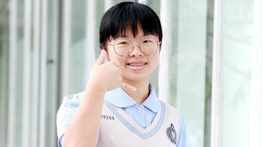 華盛頓中學大滿貫 池旻柔以5科A++及作文6級分奪全國榜首--上報
