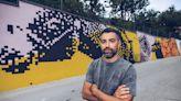 """Moiola: inaugurato il murales """"La lezione dell'asino"""""""