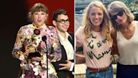 Taylor Swift opens up about Blake Lively's children in Grammy speech