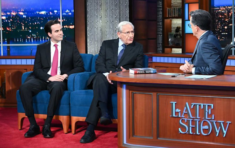 Stephen Colbert, Bob Woodward Reveal Why the GOP Will Never Be Held Accountable