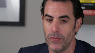 """Sacha Baron Cohen on using comedy as """"form of peaceful protest"""""""