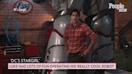 Luke Wilson Watched Scenes of Han Solo to Help Operate His 'Really Cool' Robot in DC's 'Stargirl'