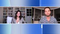 Skylar Astin and Peyton Elizabeth Lee talk about new their Disney+ film