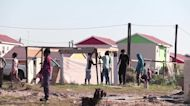 Residents waiting for social housing in Cape Town build houses on vacant land