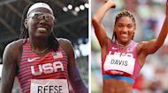 Brittney Reese wins silver, makes way for Tara Davis as face of USA long jump