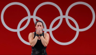 Olympics-Weightlifting-Happy to see you, lifters tell anti-doping testers