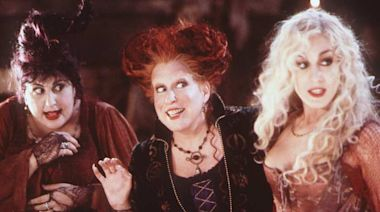 Boo! Bette Midler and the Sanderson Sisters are back for a 'Hocus Pocus' reunion