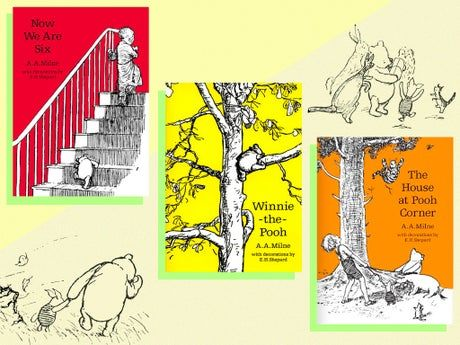 Celebrate AA Milne's birthday by reading the Winnie the Pooh author's classic books and poems