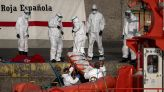 Spain: Rescuers find 4 dead, save 19 from vessel in Atlantic