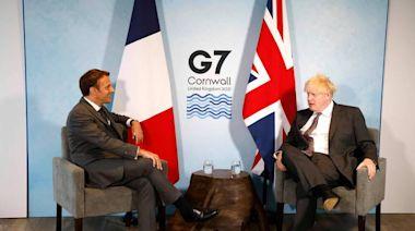 因漁權互派艦艇叫陣 馬克宏放話:英信守脫歐承諾 關係才能改善 - 自由財經
