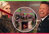 The Miz & Maryse Mizanin Try Decorating A Christmas Fireplace
