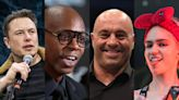 Dave Chappelle hung out with Joe Rogan, Elon Musk, more before testing positive for COVID-19