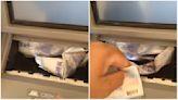 態度這麼差!ATM吐「皺巴巴」紙鈔 網:超時工作生氣了│TVBS新聞網