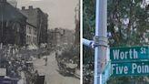 組圖:見證紐約民族熔爐史 華埠五點區立路標