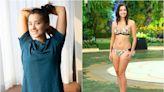多圖 謝嘉怡素顏家居服做瑜伽 零濾鏡一樣獲讚:運動令心境平靜