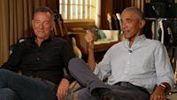"""Barack Obama and Bruce Springsteen talk """"Renegades"""""""