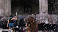 More than 81 injured as Women's Day march in Mexico turns violent