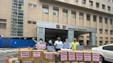 綠營湧言會捐防疫物資 提供雙和醫院醫護