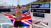 Jasmine Harrison's solo Atlantic rowing trip - CNN Video