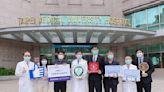 日亞光磊醫療公益基金會挺醫護 捐22台呼吸器、2千組防疫箱