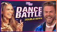 Dance Battle: Derek Hough & Kelly vs. Leslie Grace