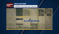 3 people killed in Caruthers crash