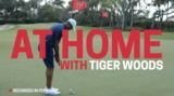 At Home with Tiger Woods: My Putting Green