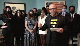 Damon Lindelof dedicates Watchmen Emmy win for Best Limited Series to victims of Tulsa massacre