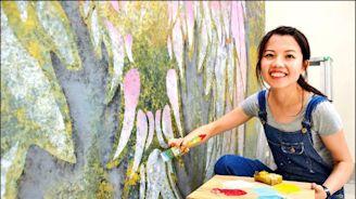 〈北部〉《桃園》捨教職投入漆作 她獲魯班公獎首獎 - 地方 - 自由時報電子報