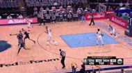 Jonas Valanciunas with a 2-pointer vs the Utah Jazz
