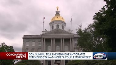 Sununu says state monitoring COVID-19 data as stay-at-home order continues