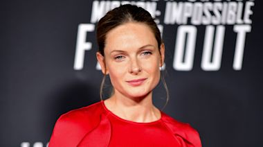 'Mission: Impossible – Fallout' Actress Rebecca Ferguson Reveals She Got Married Over the Holidays