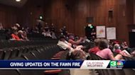 Tough questions for Cal Fire surface in Fawn Fire community meeting