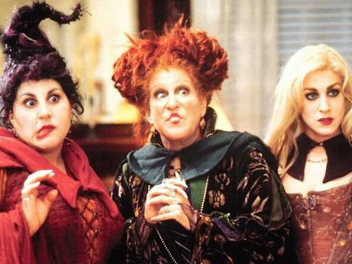 See Hocus Pocus ' Bette Midler, Sarah Jessica Parker and Kathy Najimy Reunite in Full Costume