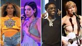 2021 Grammy Nominations: Beyoncé, Dua Lipa, Roddy Ricch, Taylor Swift Lead Pack